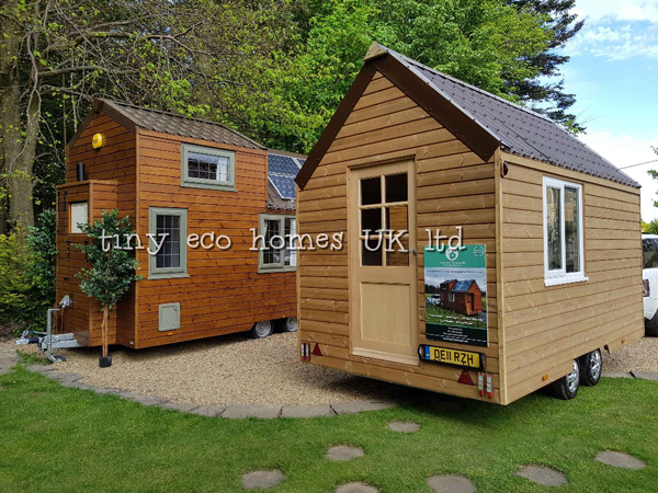 Road Legal Tiny Home With Type Approved Trailers